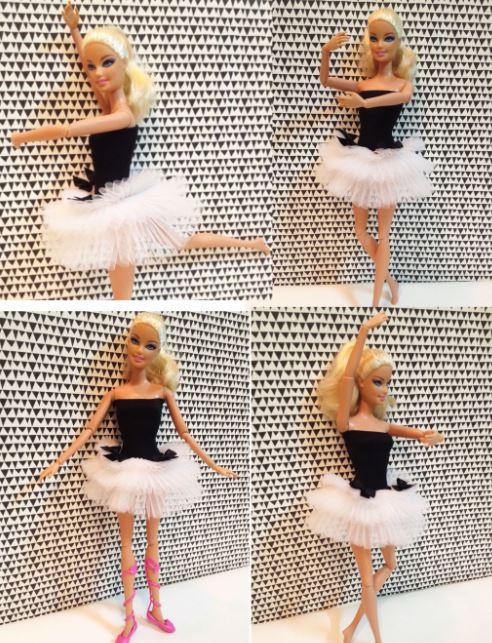 Как сделать балетное платье для куклы