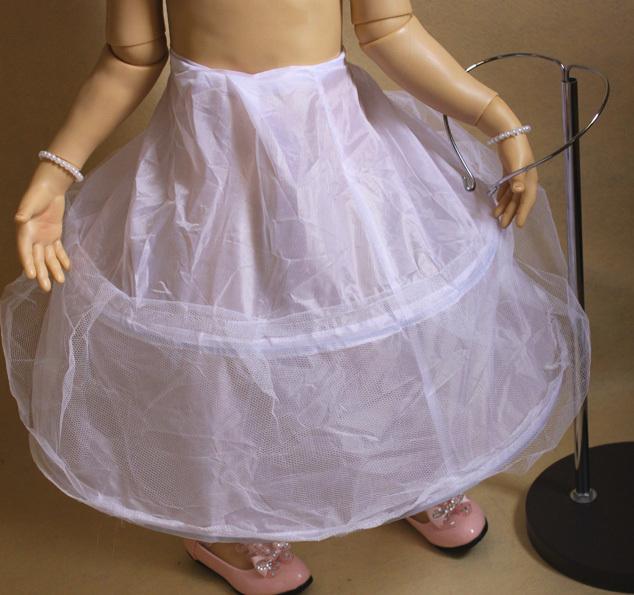 Как сшить кринолин для детского платья
