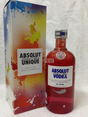 Absolut Vodka Unique & Mexico gift box绝对不同700ml&巴西礼盒