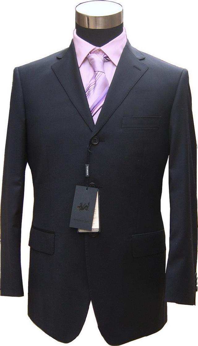 Деловой костюм Youngor 1010 2195 Хлопок без добавок Однобортная на 3 пуговицы Классический (воротник шириной 7- 9см) Овчина