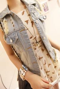 Женская жилетка   2012 1242#