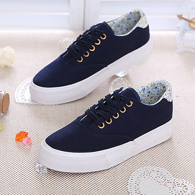 2014 spring new small fresh low-top canvas shoes women shoes Korean tidal student casual flat bottomed muffin