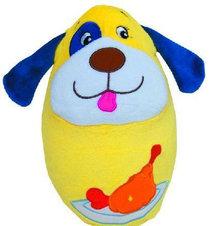 伊诗比蒂 宝宝玩具1岁 充气小狗不倒翁玩具 婴儿玩具BT-4117 特价
