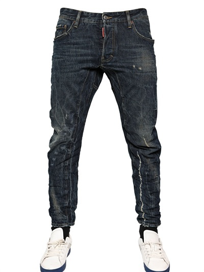 Джинсы мужские DSquared2 17CM SCARFACE WASH BIKER FIT