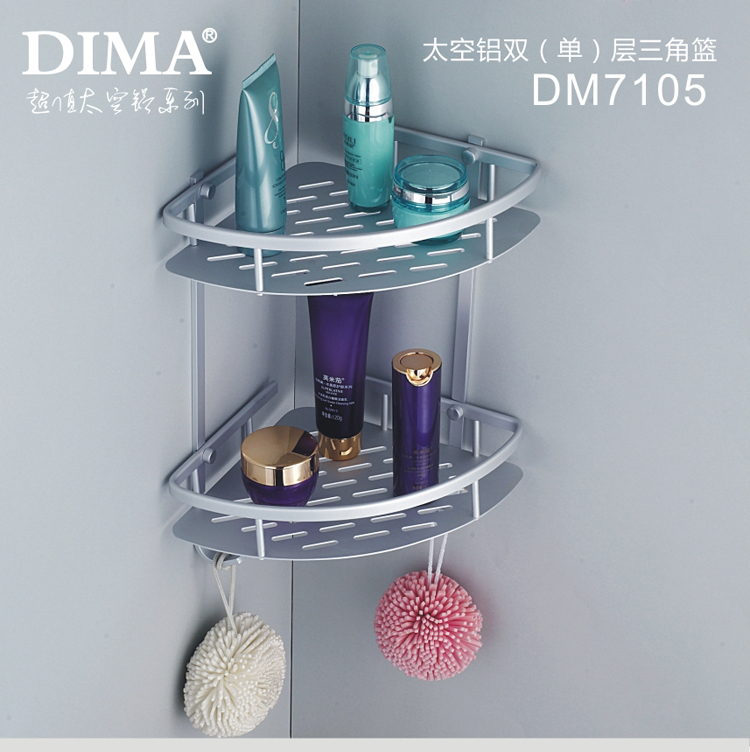 Угловая полка в ванную Dima timor/mart
