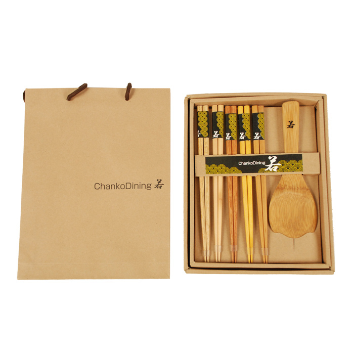 Ichiban Japanese chopsticks spoon cutlery gift set