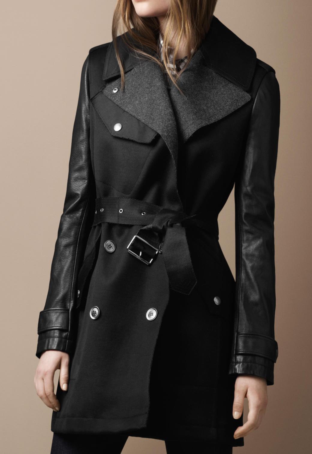 burberry巴寶莉 brit系列女裝/風衣 腰帶雙排扣 38431061美國代購圖片
