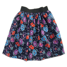 Edgar ETAM ES counters authentic women's spring/summer skirts cotton print skirt waist elastic double fashion