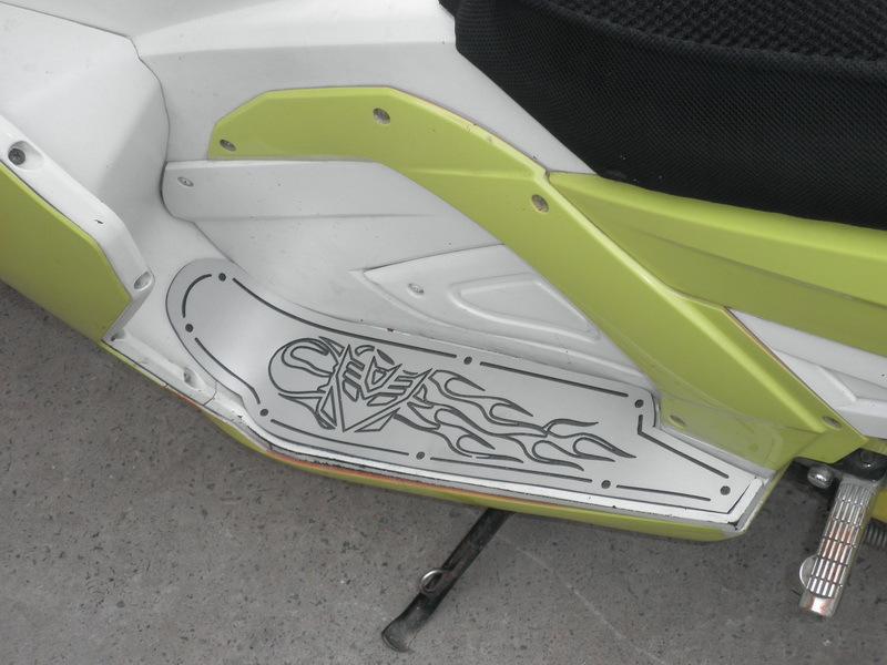 Накладка на педаль A product fashion 004