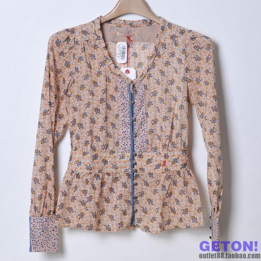 женская рубашка REPLAY g11080046 Casual Длинный рукав