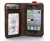 The purchase the holster to send ip5 retro books the money bookiphone44S Apple cellphone shell new holster