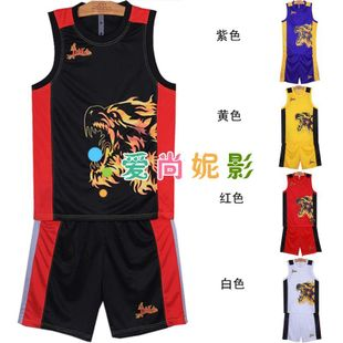 New authentic basketball fire suit Perak war wolves men's basketball basketball clothing clothing clothing basketball training clothing competition clothing
