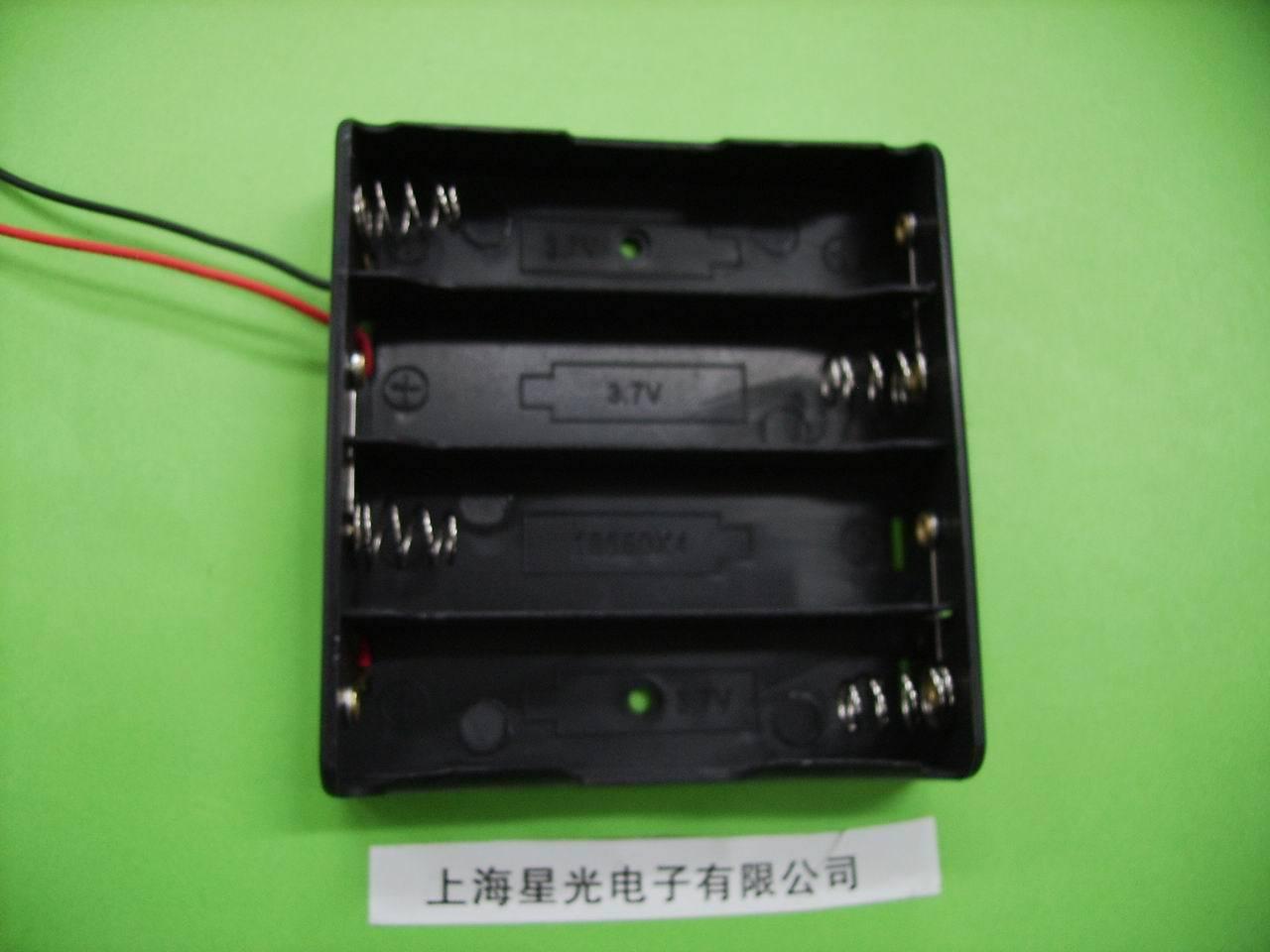Блок для аккумуляторов 18650   18650 18650 3.7V 14.8V 18650