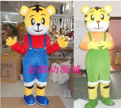 Walking Cartoon Doll Doll cartoon costumes cartoon costumes cartoon tiger costume