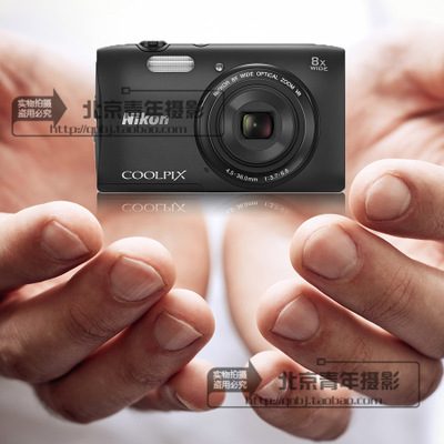 Nikon / Nikon COOLPIX S3600 new camera card 8x optical zoom camera mainstream
