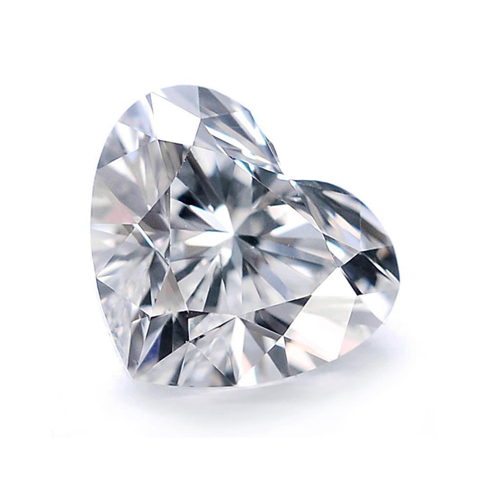 喜钻 GIC裸钻现货 SI1 I色100分心形钻石 免工费 送18K戒托