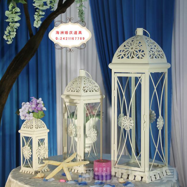 свадебные принадлежности Новое свадебное фонарь Проп t стиль макета реквизит (набор из трех) 4126