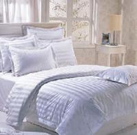宾馆酒店枕套 3公分缎条 宾馆专用枕套  床上用品