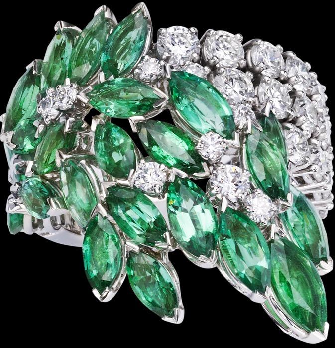 Драгоценные, Полудрагоценные камни   18K