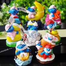 Smurf dolls creative Valentine's Day heart-shaped ornaments genuine Christmas woman sent her boyfriend a birthday present
