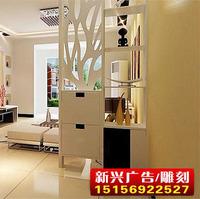 通花板流行装饰PVC雕花隔墙断装修影视墙17mm长方型m2180元厚新兴