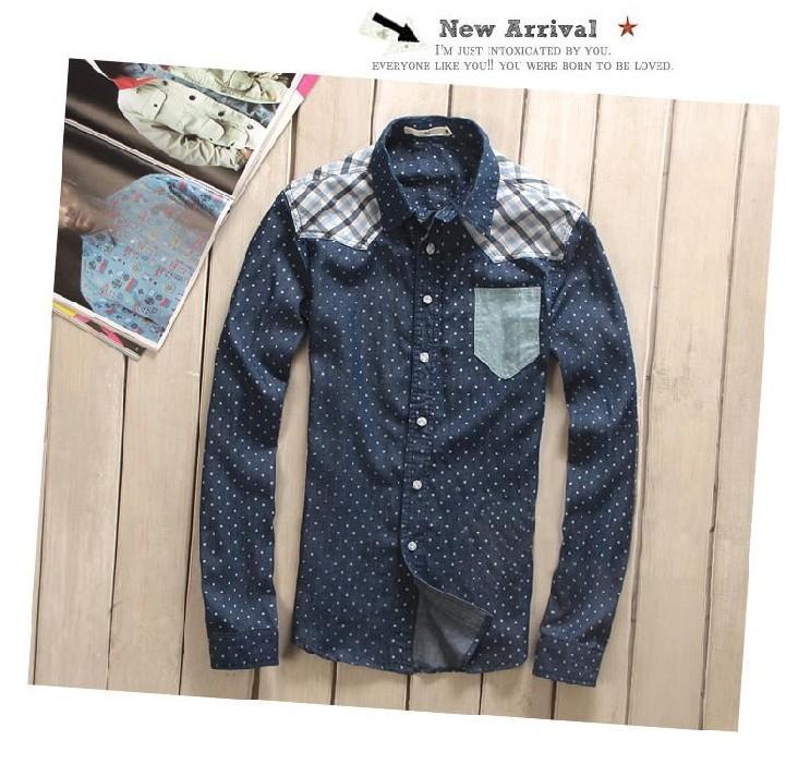 Рубашка мужская Japanese and Korean brands PS R0 Длинные рукава ( рукава > 57см )