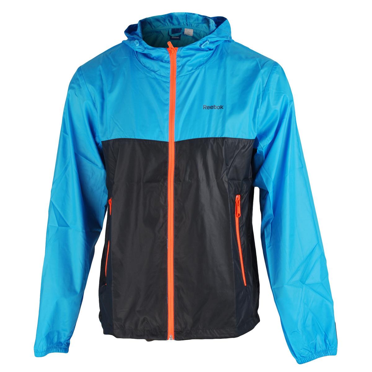 Спортивная куртка Reebok rb7720 K86792 Для мужчин Комплексные тренировки Воздухопроницаемые, Износостойкая, Ультралегкие
