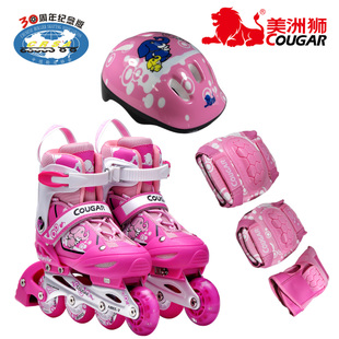 2012 new  playful children's skates inline Skate roller skate Flash set MS737