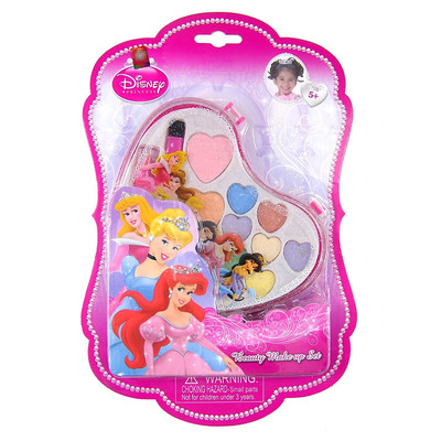 Authentic Disney Princess Children's dressing washable water-soluble cosmetics makeup set 21660C