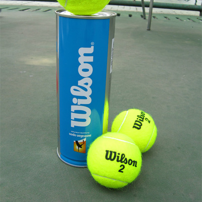 Genuine Wilson in the network of the Australian Open tennis tournament dedicated cans Wilson training equipment wear-resistant ball three dozen