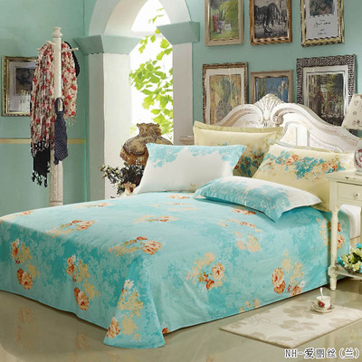 Bedding cotton twill cotton printed sheets of environmentally friendly linen sheets Specials