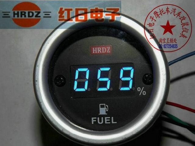 Указатель уровня топлива светодиодный своими руками