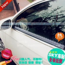 Lace car stickers car also sexy lace classic car free stickers B41-1