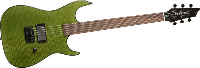 Акустическая гитара Godin  Redline Electric Guitar Trans Green