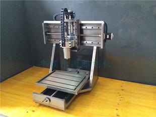 数控雕刻机4030直线导轨小型固定龙门电脑锣全钢玉石雕刻机