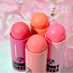 W7 Chunky Cheeks Cream Blush Stick 腮红膏状