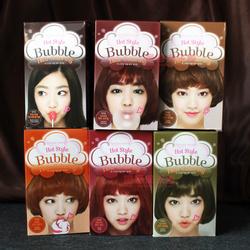 包邮韩国正品爱丽小屋新款泡泡染发剂泡沫染发膏进口纯植物多色选
