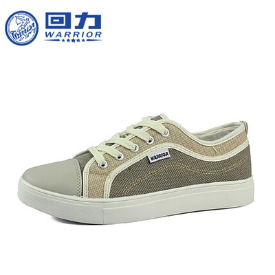 Warrior genuine 2014 autumn and winter new men's shoes shoes Korean version of casual lace low-cut canvas shoes tide