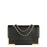 [6.5 fold] Charles & amp; amp; Keith European and American retro metal chain bag ladies silhouette CK2-70680043