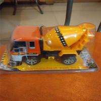 儿童玩具回力惯性工程车回力惯性搅拌机宝宝的礼物车宝宝的年货车