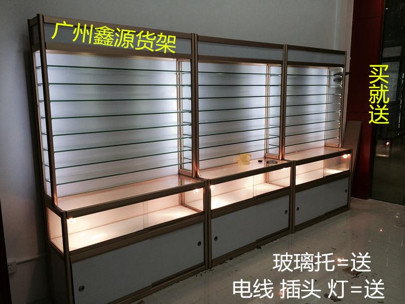 精品展示架 展柜陈列柜 饰品珠宝手机柜台 音响眼镜展示玻璃货架