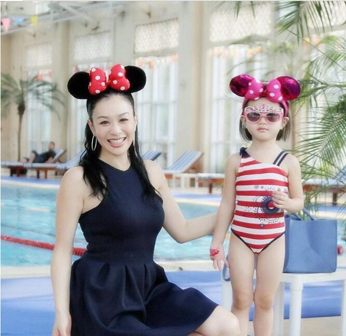 日韩可爱卖萌耳朵造型迪士尼米老鼠蝴蝶结儿童少女发箍儿童节礼物