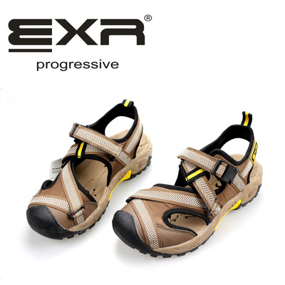 Package mail South Korea counters authentic EXR big boy male adult baotou sandals sandals Casual sandals