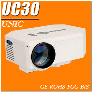 New hot-selling UNIC UC30 mini Projector supports 1080p