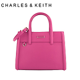 Charles & amp; amp; Keith genuine purchasing new autumn fashion shoulder portable handbag embossed small CK2-50670078