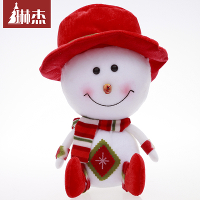Lin Jie 32CM foam snowman Christmas Snowman Christmas gifts Christmas decorations doll doll ornaments