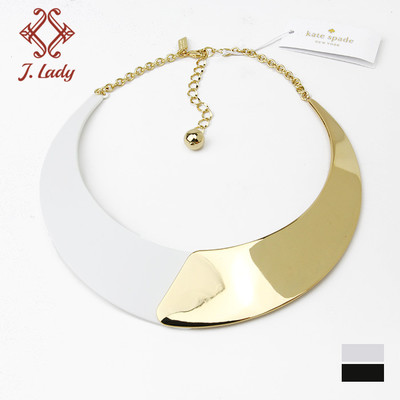 J.l ady full packing KS DIVE PLATE IN the STATEMENT NECKLACE off the collar NECKLACE