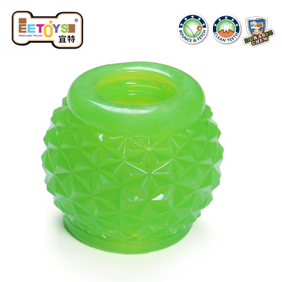EETOYS IST attractant pet toys molar tooth cleaning can be mounted crystal pineapple snack food is authentic card