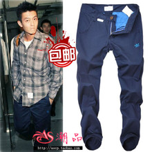 Edison Chen tide brand trousers clot trilobites casual pants straight male han edition cultivate one's morality type shawn yue cargo pants