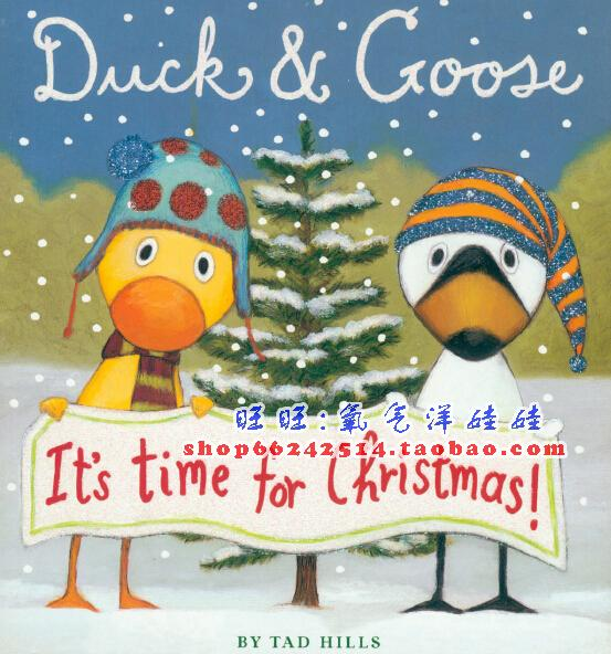 Duck And Goose_ It's Time for Christmas 名家Tad Hills